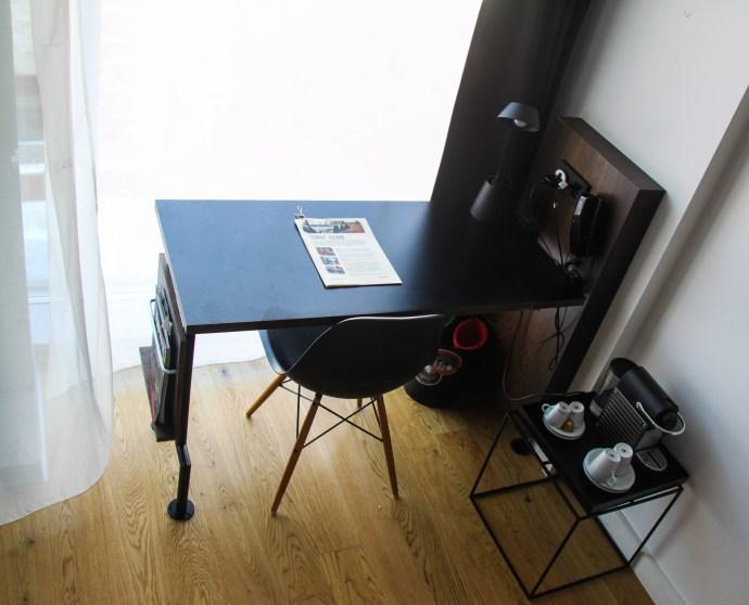 Scandic Vulkan Desk with a view - thetraveloguer.com