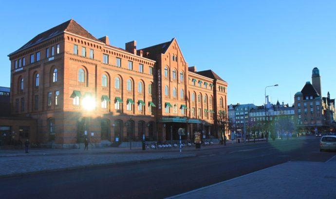 Malmo train station- Copenhagen to Malmo train day trip