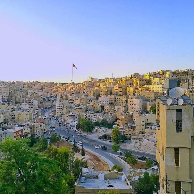 Beautiful Amman from above gojordan