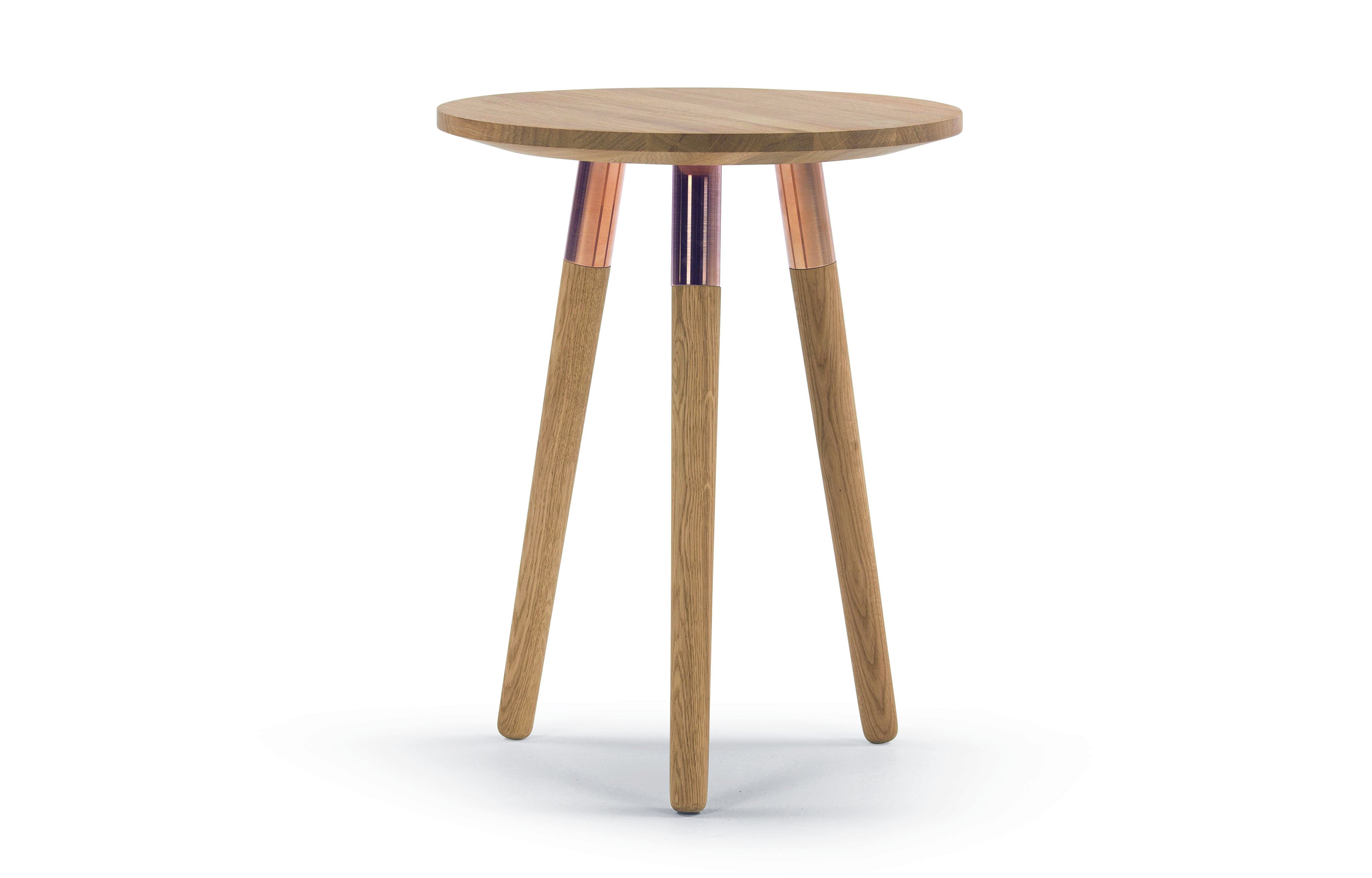 Quirky Tables Round Side Table The Treasure Hunter Well Designed