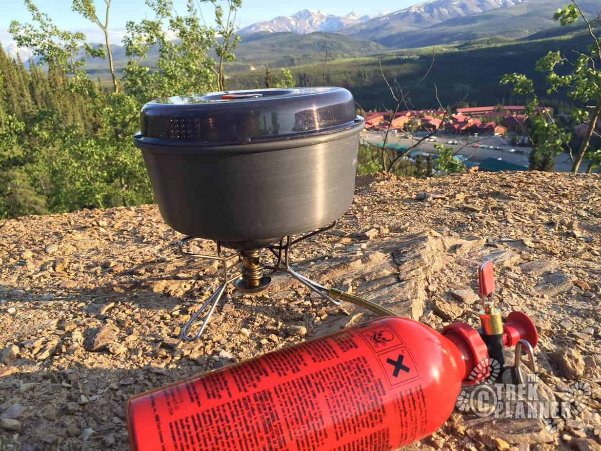 Denali Camp Stove Msr Whisperlite Camp Stove The Trek Planner