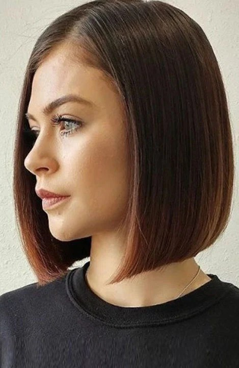 Straight Hair Cutting Video 10 Trendy Blunt Cut Haircuts For Women The Trend Spotter