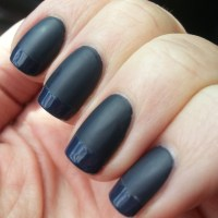 Matte & Shiny Nails - The Dark Side