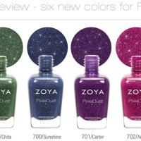 Zoya Fall Pixie Dust 2013 Collection
