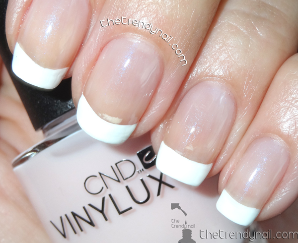 CND VinyLux French Manicure