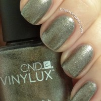 NAIL POLISH REVIEW:  CND VINYLUX 7 DAY POLISH STEEL GAZE