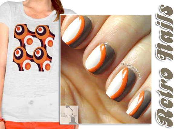Tutorial Thursday Retro Nails Using Essie Summer 2014 Colors The Trendy Nail