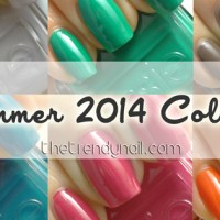 NAILS REVEALED: Essie Summer 2014 Collection