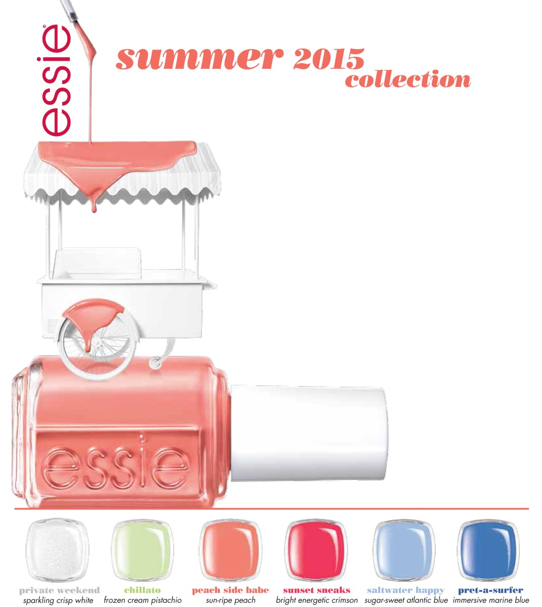 NAIL POLISH NEWS: ESSIE SUMMER 2015