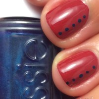 Nail Art Tutorial: Fall Dotticure with Essie