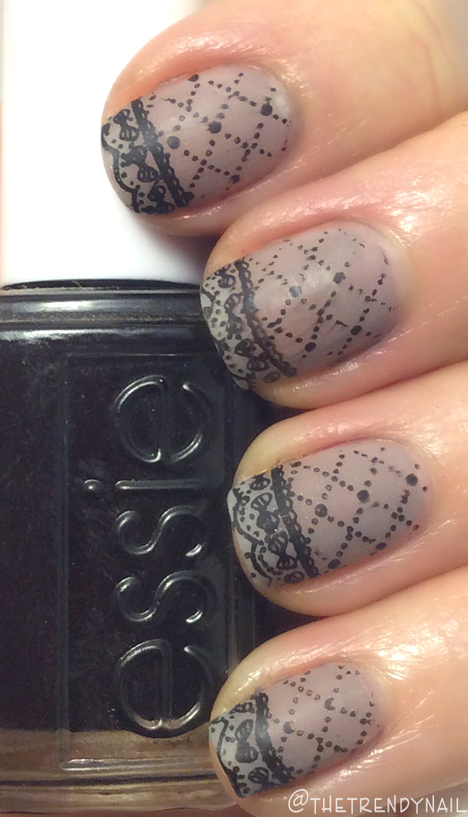 Video How-To: Stamping Lace Nails