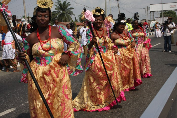 Calabar Dancers The Trent