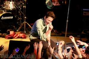 "Teen pop sensation Ryan Beatty performed at The Note in West Chester, Pa. Jan. 18. They 17-year-old California native realsed his EP ""Because of You"" this past summer and is currently recording his debut album."