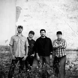 "Photo Courtesy Jonathan Weiner Chuck Ragan of Hot Water Music is pictured above with his band. Ragan is co-headlining a tour with The White Buffalo. The two groups played at the Theatre of the Living Arts April 23. Ragan's latest release is titled ""Till Midnight."""