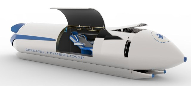 Photo Courtesy: Drexel Hyperloop Team