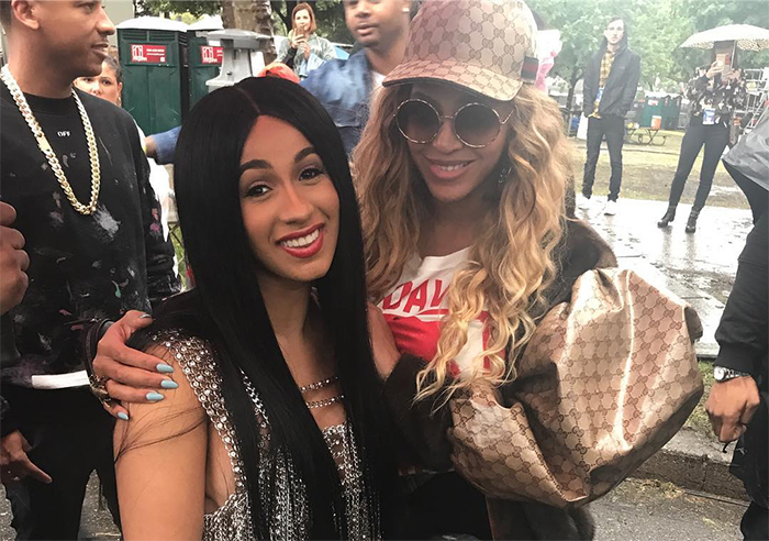 Cardi B Ties Beyonce For Billboard Song Chart Record The Tropixs