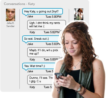 How to spy on cell phone text messages for free