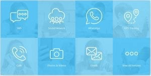 Features of Free text message spy without target phone