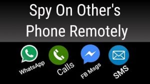 Know how to get the details of someones phone without getting the software installed