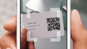 Method 3- scans QR code