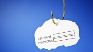 By using the Phishing attacks