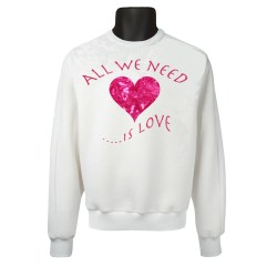 All we need is love heart SS