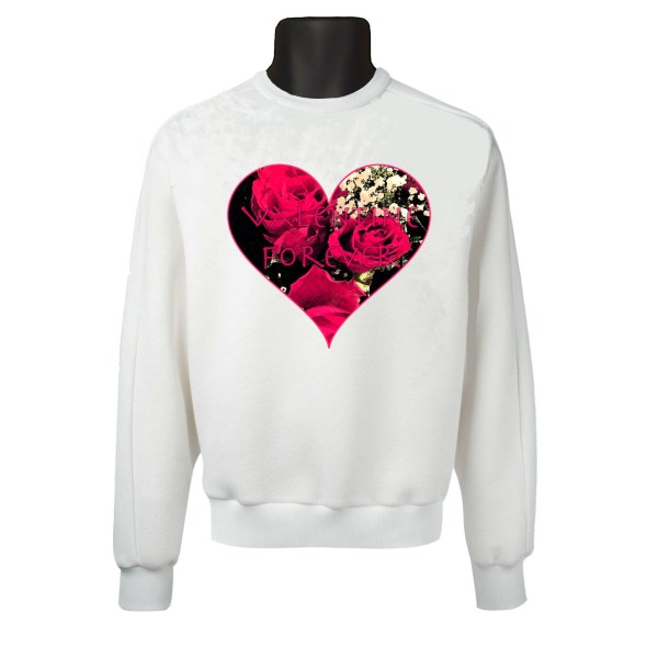 Forever roses heart
