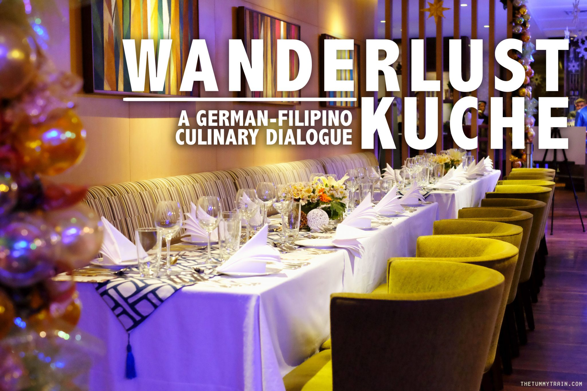My Asia Küche Wanderlust Küche Blue Hour Dinner By Goethe Institut The Tummy Train