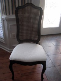 Reupholstering dining room chairs | The Turner Five