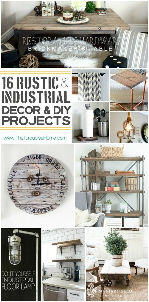 Medium Of Rustic Diy Home Decor