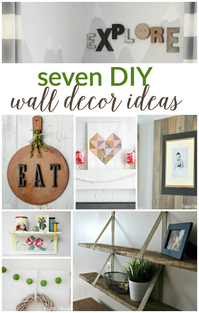 7 Diy Wall Decor Ideas (Work It Wednesday) - Place Of My Taste