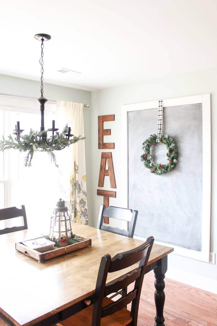 Christmas Home Tour Kitchen and Gallery Wall The Turquoise Home - christmas kitchen decor