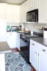 Painted Kitchen Cabinets: 2 Years Later | The Turquoise Home