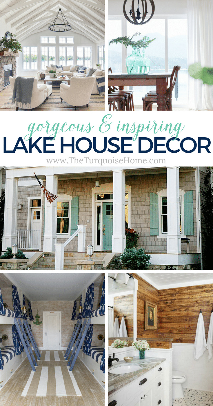 Beautiful Lake House Decor Inspiration The Turquoise Home