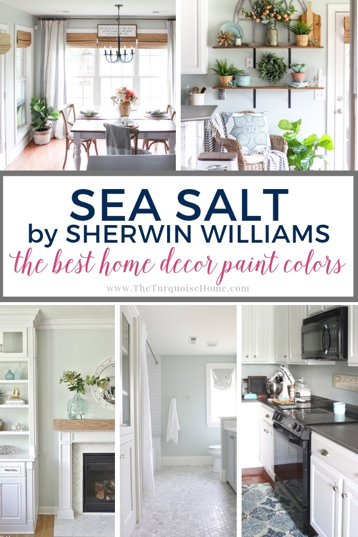 Best Home Decor Paint Colors Sherwin Williams Sea Salt