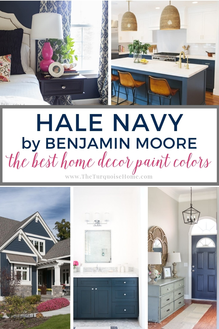 The Best Home Decor Paint Colors Hale Navy The Turquoise Home