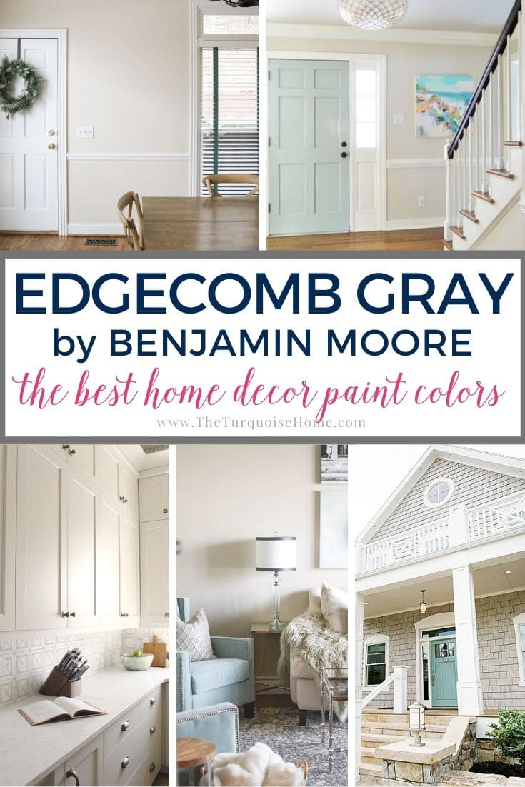 Best Home Decor Paint Colors Edgecomb Gray The Turquoise Home