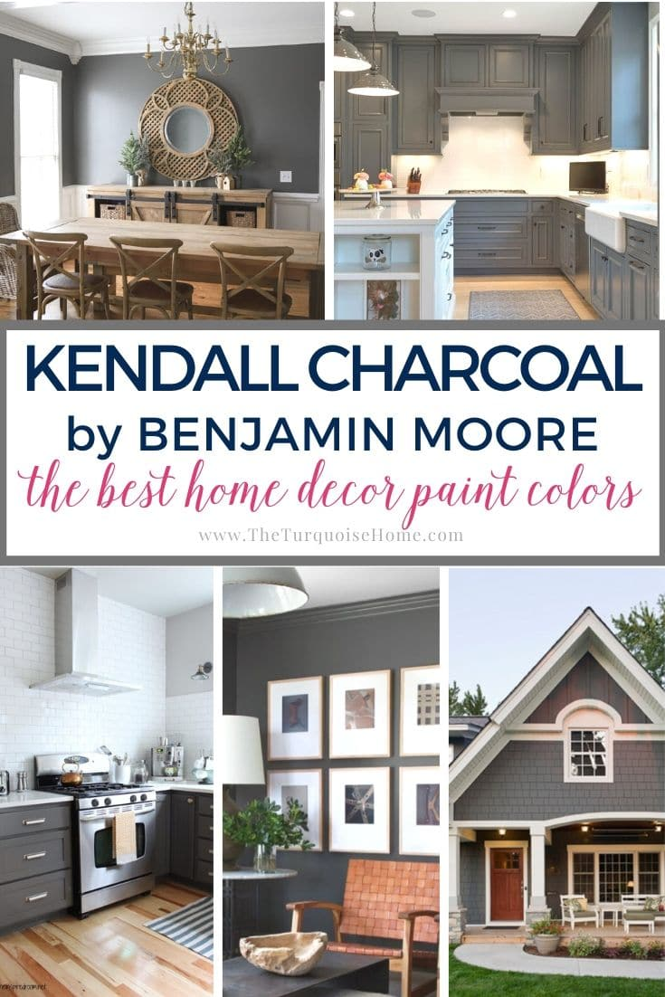 The Best Home Decor Paint Colors Kendall Charcoal The Turquoise Home