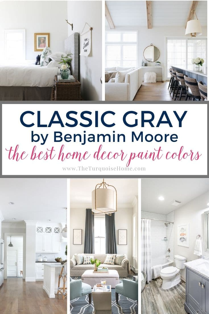 Benjamin Moore Classic Gray The Best Home Decor Paint Colors