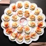 overhead deviled eggs