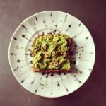 avocado toast, home