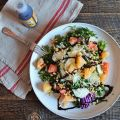 arugula grapefruit salad