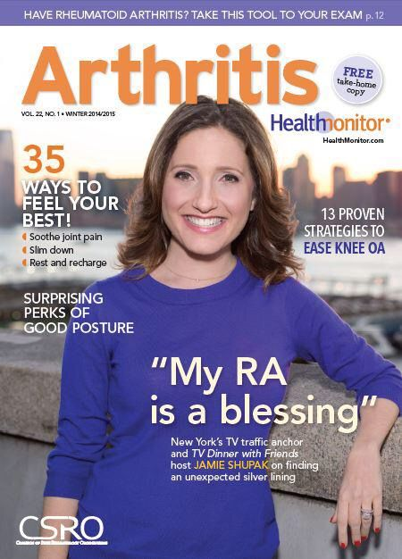 Arthritis Health Monitor cover
