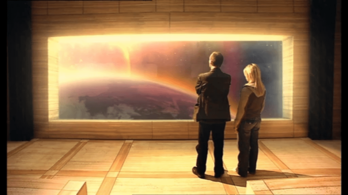 Www Alone Girl Wallpaper Com Doctor Who Review The End Of The World All That History