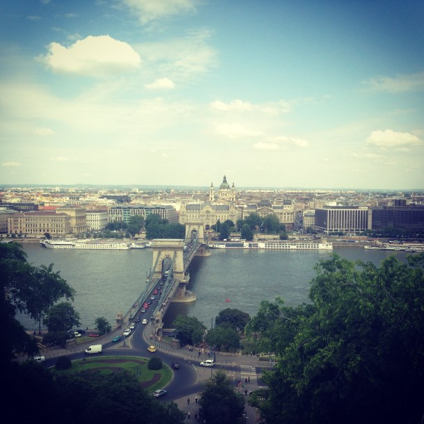 Budapest view from Buda Castle - Nicole Canning