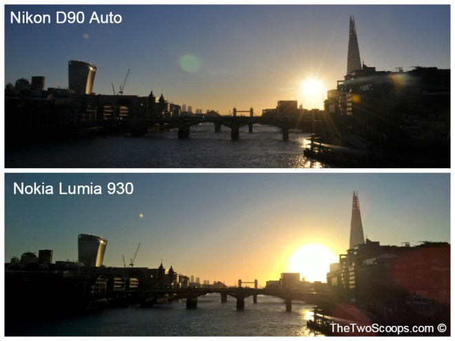 London Tower Bridge DSLR and Nokia Lumia Comparison