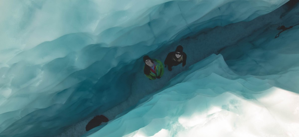 Icy adventures: The Fox Glacier heli hike
