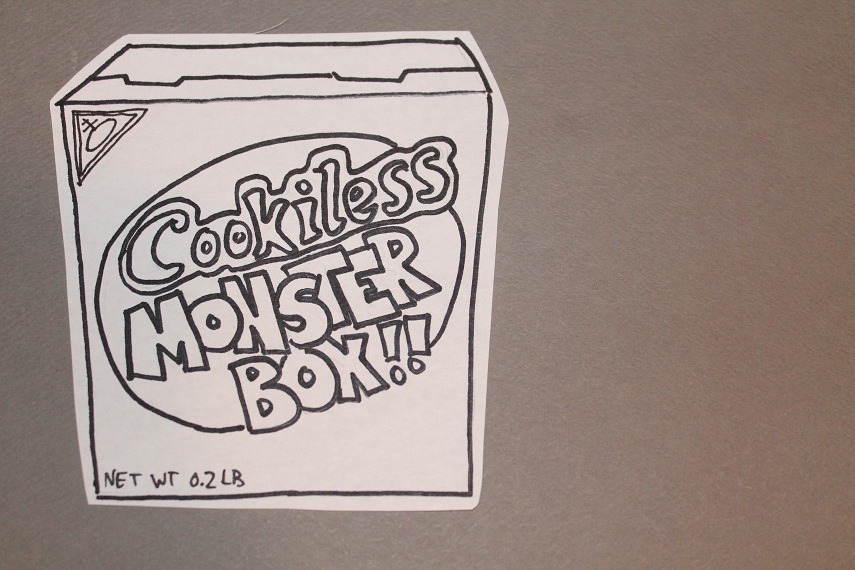 This monster of a box will have your stomach growling! (from the lack of cookies)