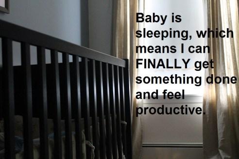 baby sleeping the ugly volvo