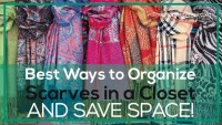 Best Ways to Organize and Store Scarves in a Closet AND ...